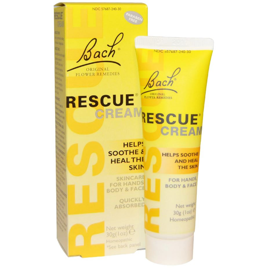 Bach Original Flower Essences Rescue Remedy Cream, 30 g
