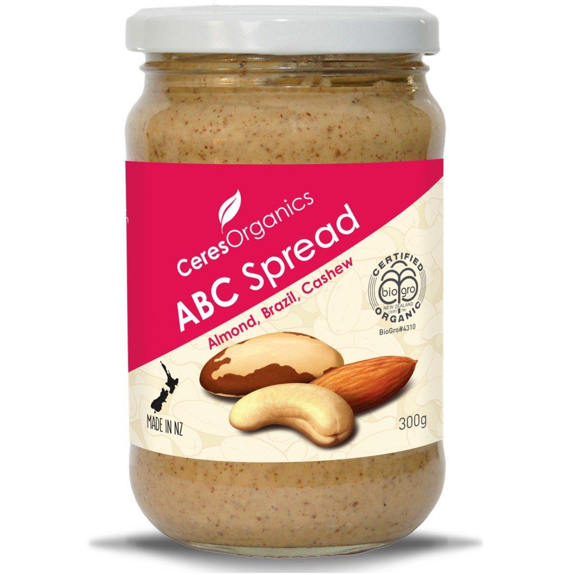 Ceres Organics ABC Butter (Almond, Brazil, Cashew), 300 g