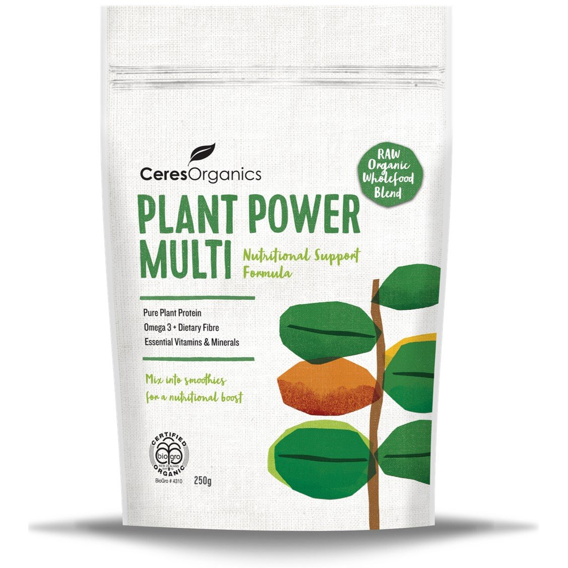 Ceres Organics Plant Power Multi, 250 g