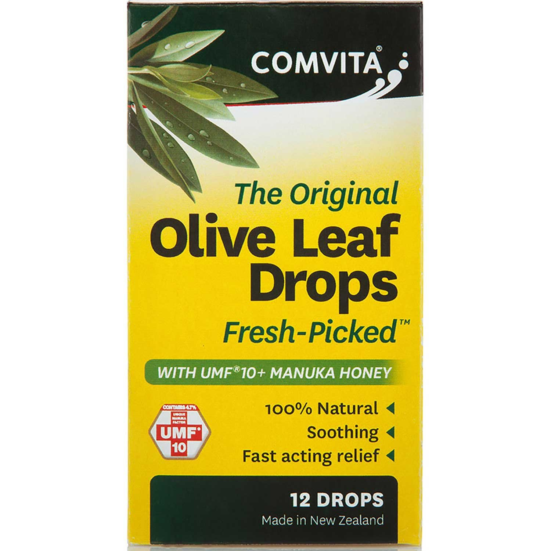 Comvita Olive Leaf Extract Drops, 12 ea