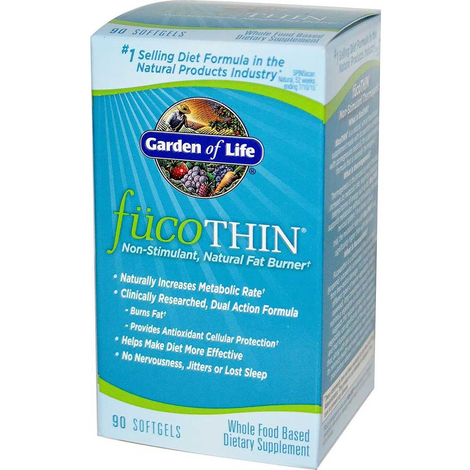 Garden of Life FucoThin, 90 caps