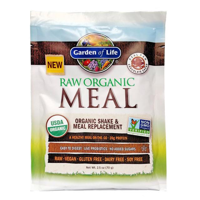Garden of Life RAW Organic Meal Shake & Meal Replacement Powder Chocolate Cacao,73g