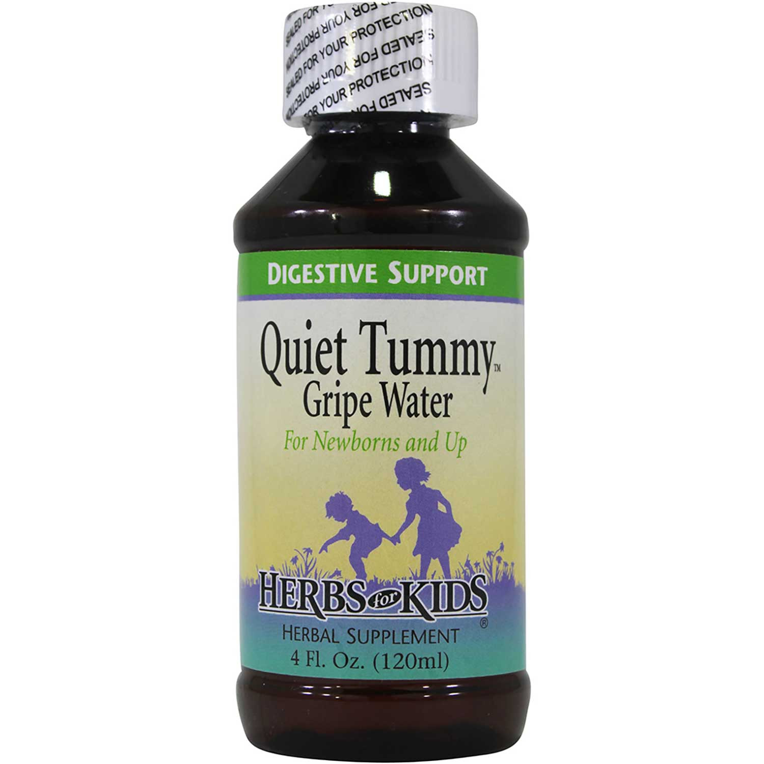 Herbs for Kids Quiet Tummy Gripe Water, 120 ml