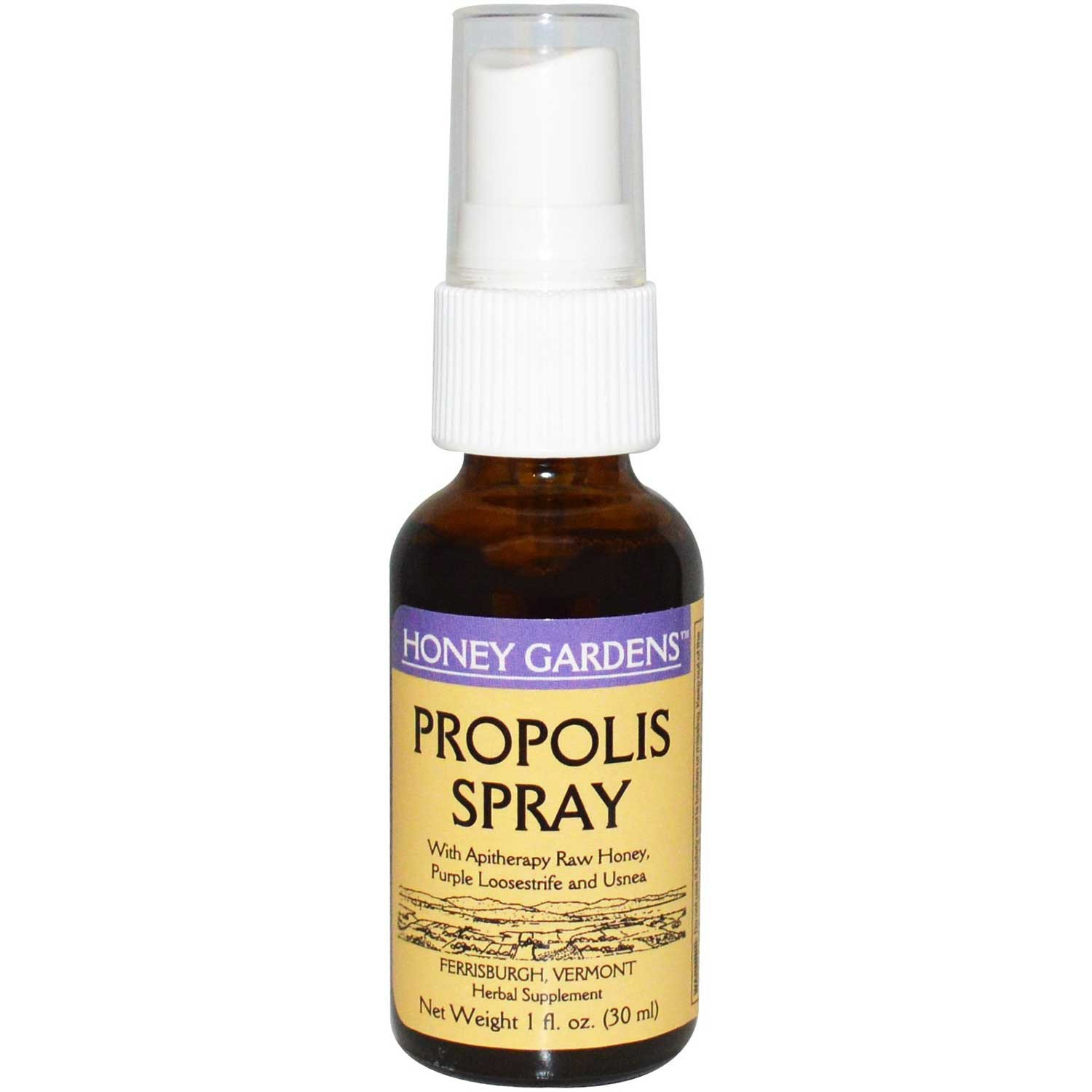 Honey Gardens Apitherapy Propolis Spray, 30 ml