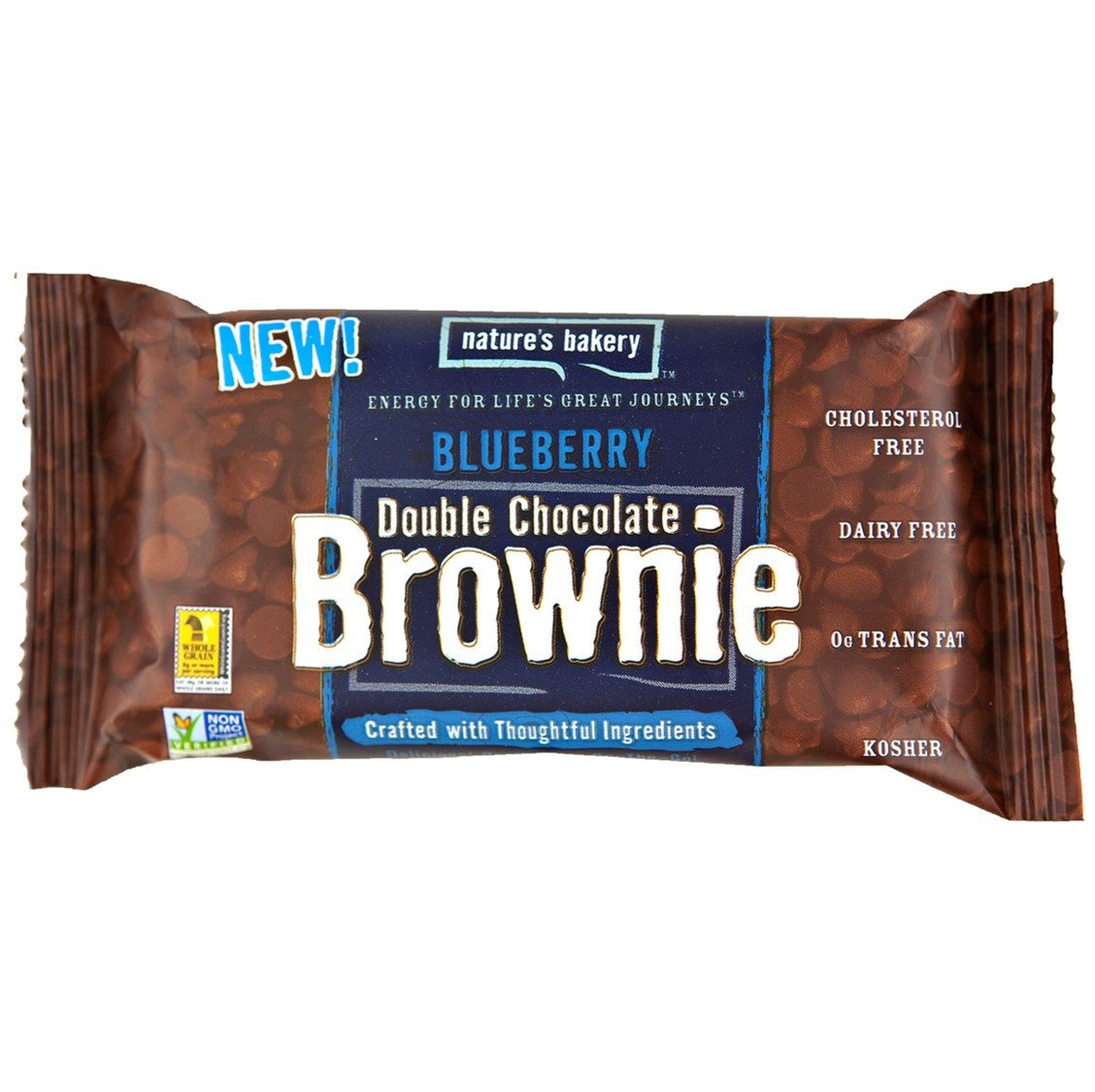 Nature's Bakery Double Chocolate Brownie Blueberry Bar (Whole Wheat), 57g