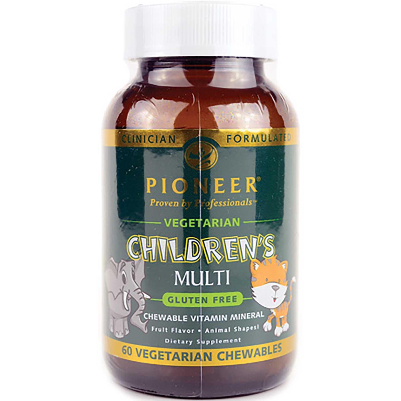 Pioneer Children's Multi (Gluten Free), 60 tabs
