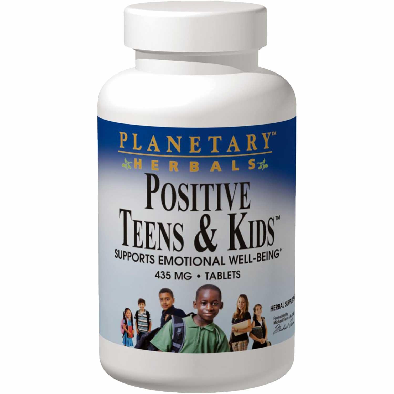 Planetary Herbals Positive Teens & Kids, 60 tabs