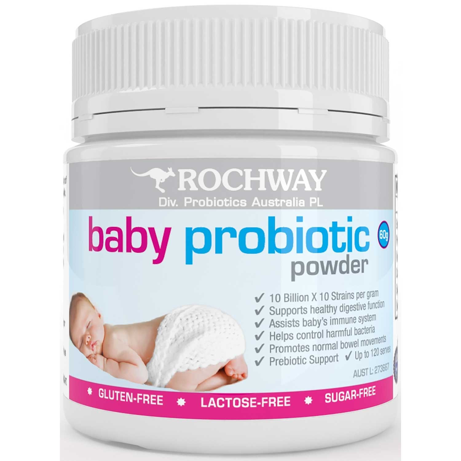 Rochway Baby Probiotic 60g