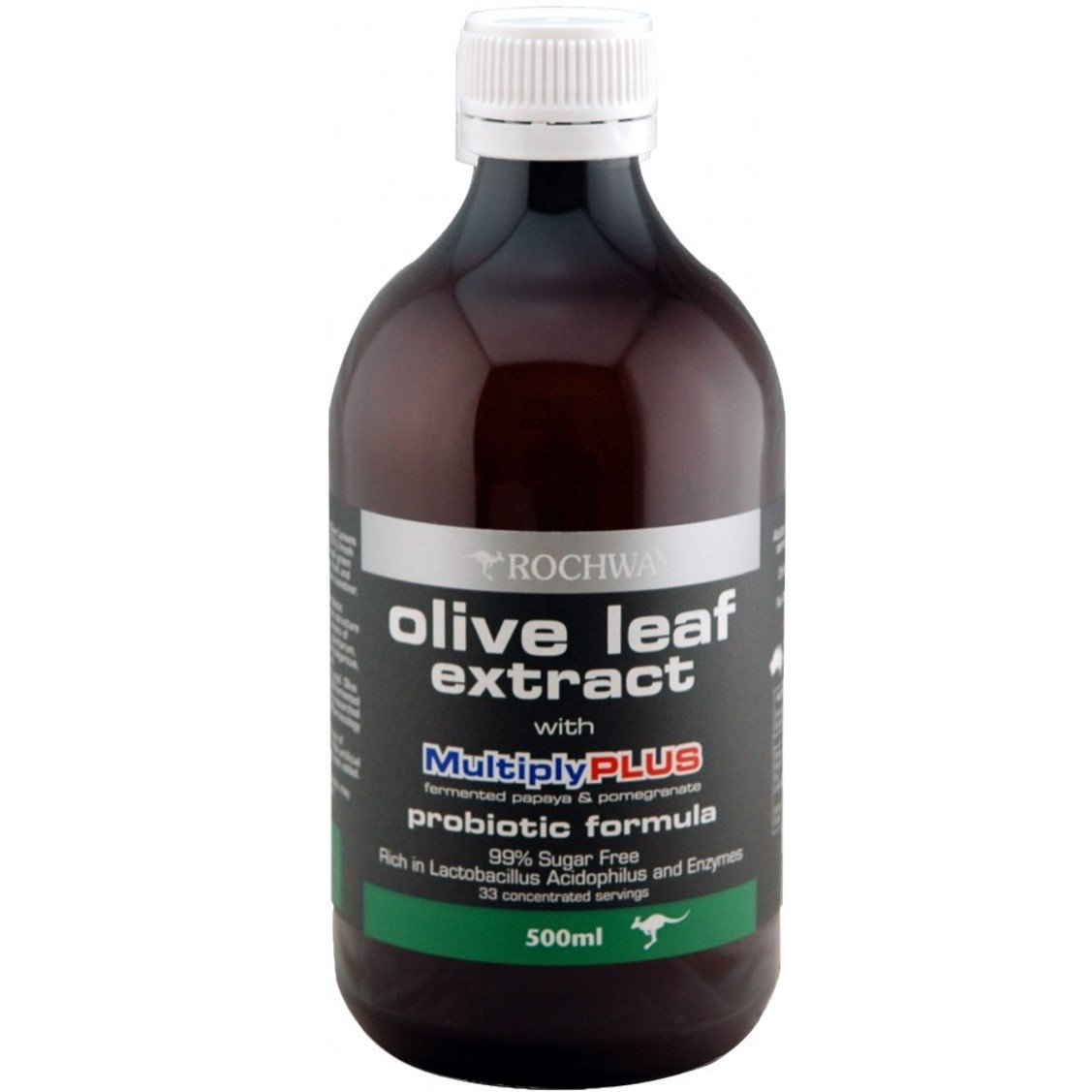 Rochway Olive Leaf Extract with MultiplyPlus, 500ml