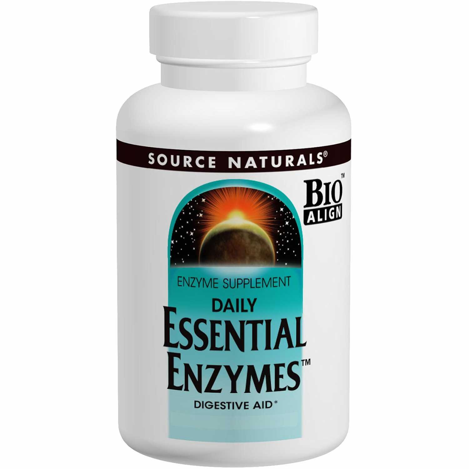 Source Naturals Daily Essential Enzymes, 120 vcaps