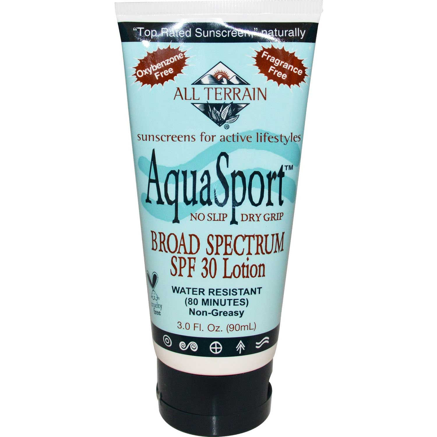 All Terrain Aquasport SPF 30 Sunblock, 90ml