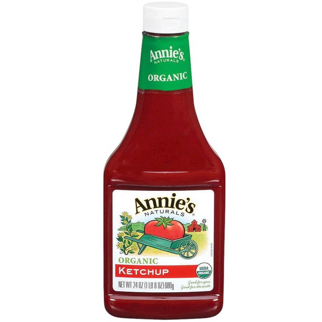 Annie's Naturals Tomato Ketchup (Organic), 680g
