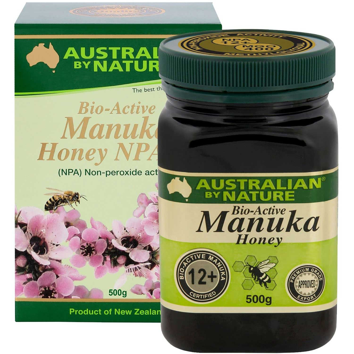Australian By Nature Bio-Active Manuka Honey NPA 12+, 500 g
