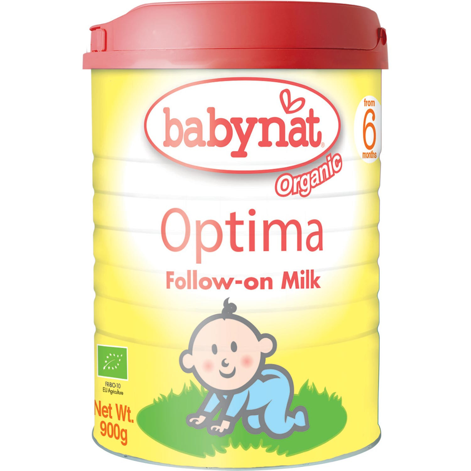Babynat Organic Optima Follow-On Milk (6 mos. onwards), 900 g