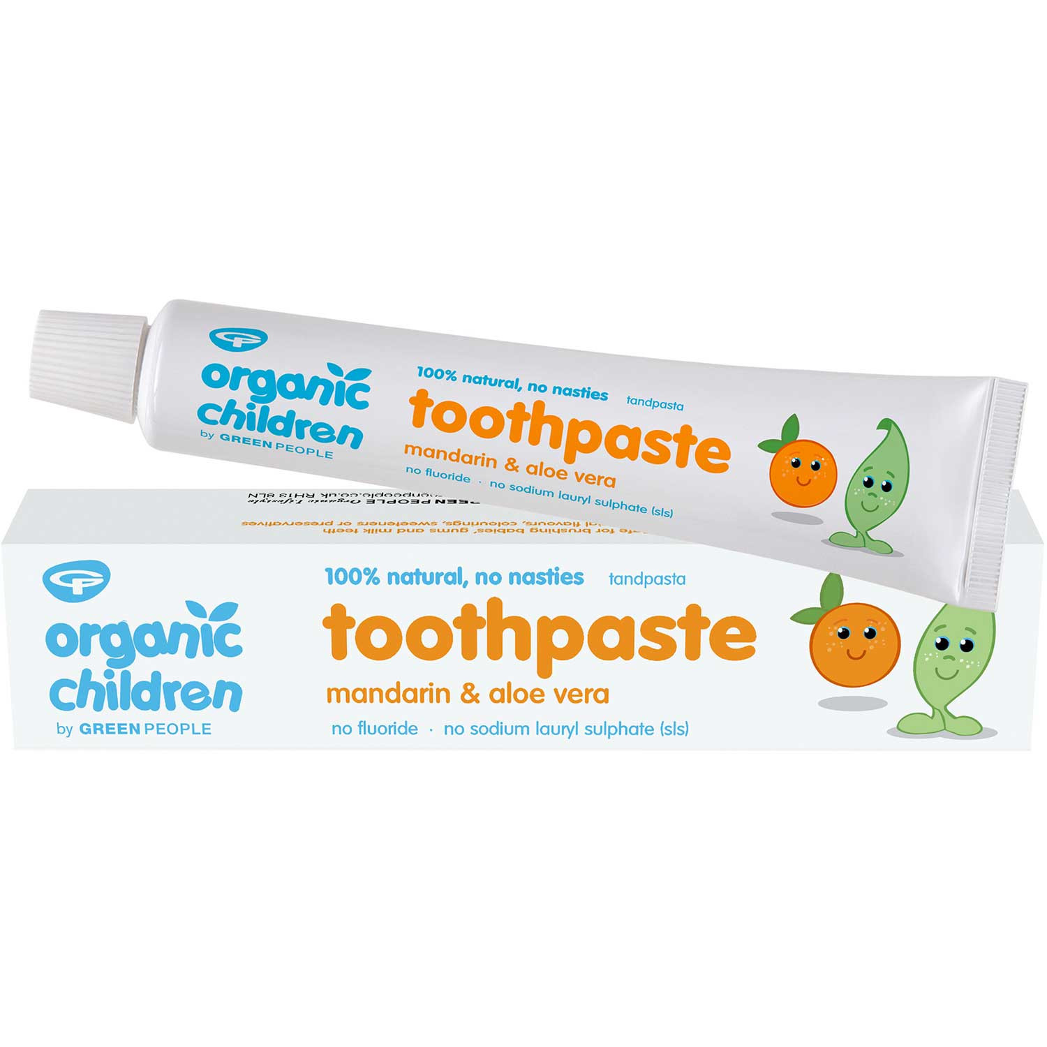 Green People Organic Children Mandarin Toothpaste, 50ml