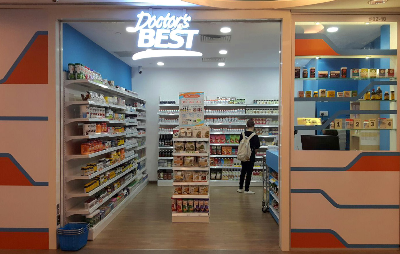 Doctor's Best shop opened by Pink of Health at Novena Square